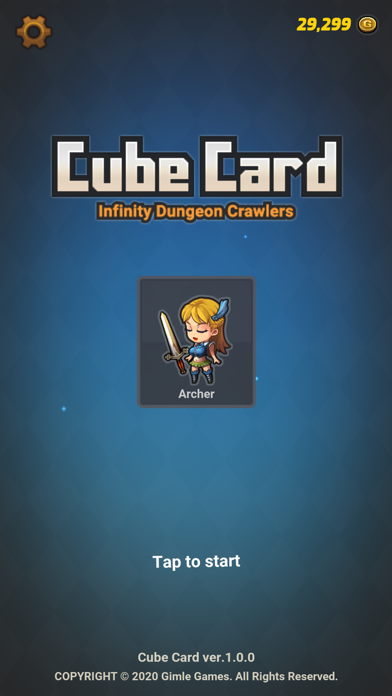 Cube Card Screenshot