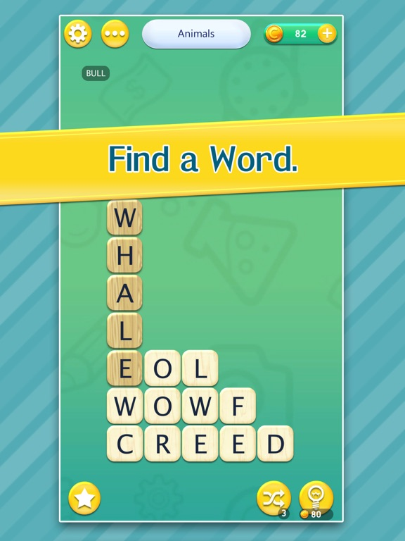 Crush Letters - New Challenging Word Search Puzzle Game screenshot