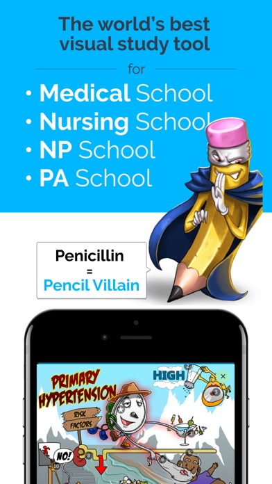 Picmonic: Nursing, NP, Medical screenshot one