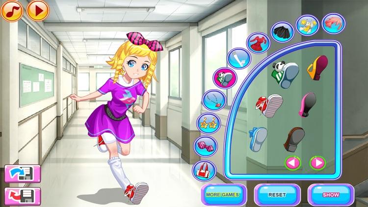 Dress Up Games, Late for Class screenshot-8