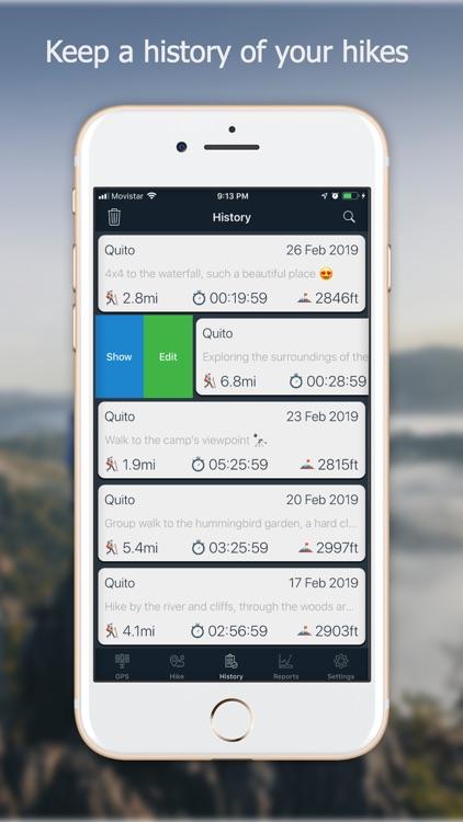 Navstar - GPS & Map for Hikers screenshot-4
