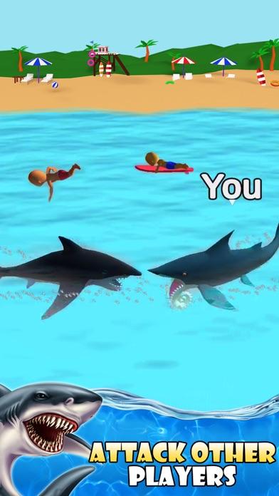 Shark Attack -Simulator games screenshot 2