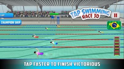 水泳レース3Dをタップするのおすすめ画像3