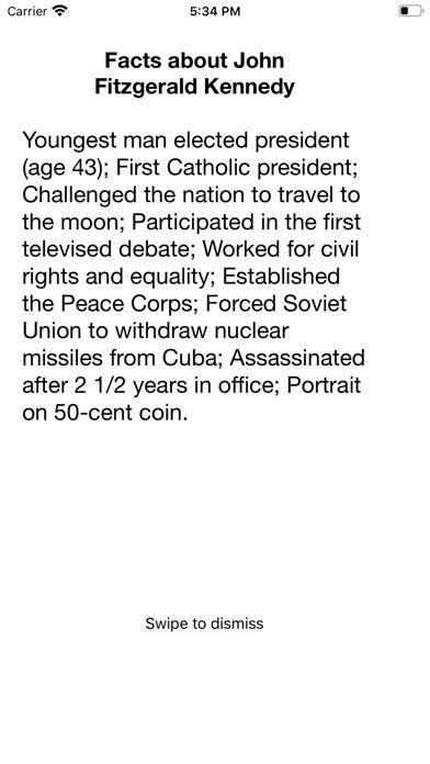 America.Presidents Brief Intro screenshot #5