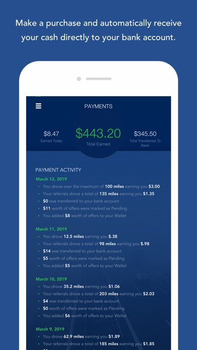 OnMyWay: Drive Safe, Get Paid screenshot 5