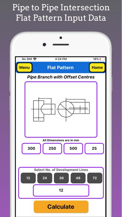 Flat Pattern Pro screenshot 3