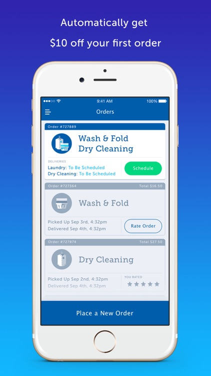 FlyCleaners Laundry On-Demand screenshot-3