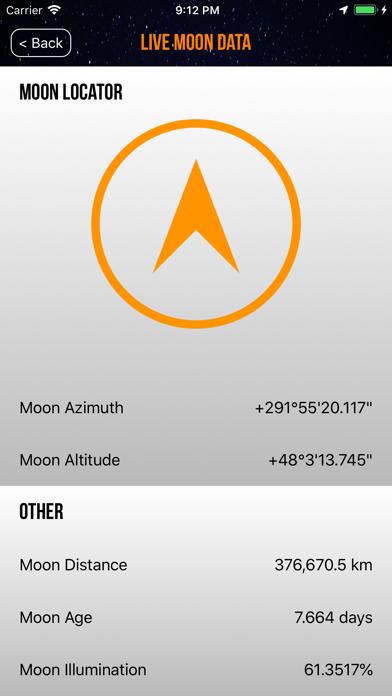 Screenshot for Moon Phase Calendar Plus in Australia App Store