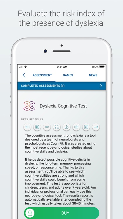 Dyslexia Test and Training