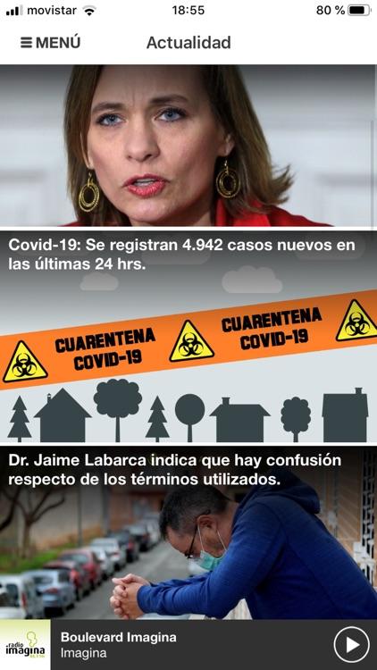 Radio Imagina Chile screenshot-3