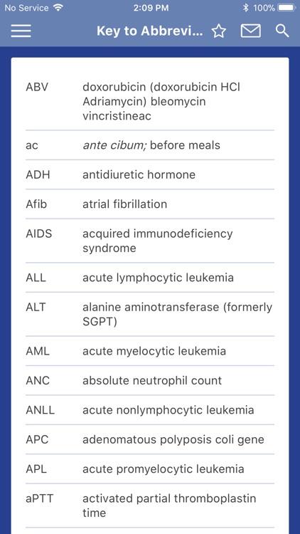 Oncology Nursing Drug Guide screenshot-3