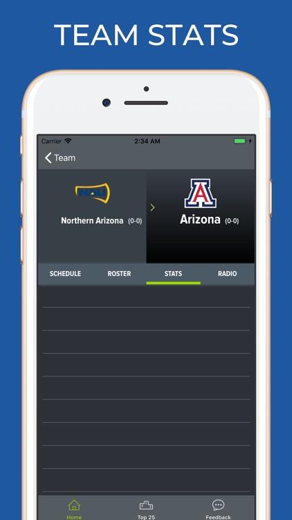 Arizona Football Schedules screenshot-3