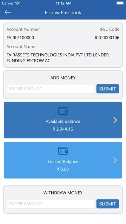 Faircent - P2P Investment screenshot-4