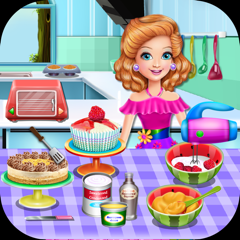Cooking Game,Sandra's Desserts