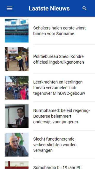 Suriname Herald screenshot one