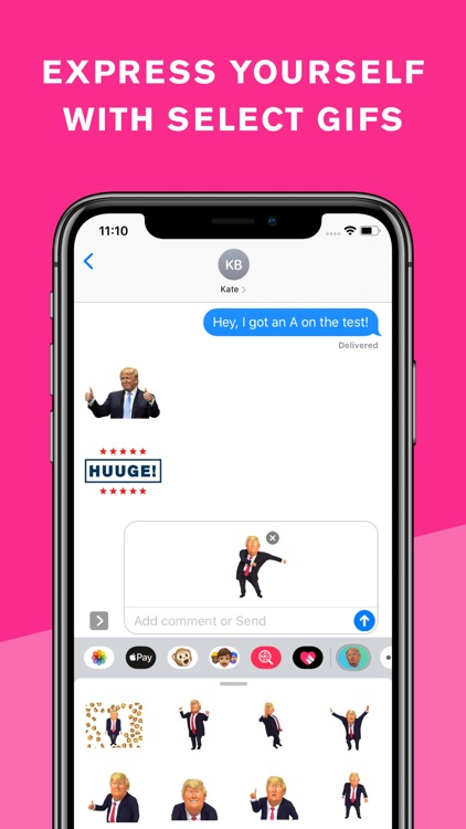 Trump Keyboard & Stickers screenshot-4