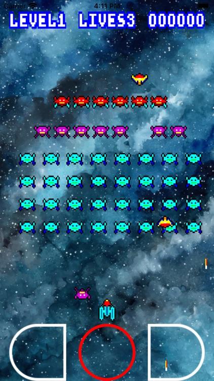 Retro Galaxians