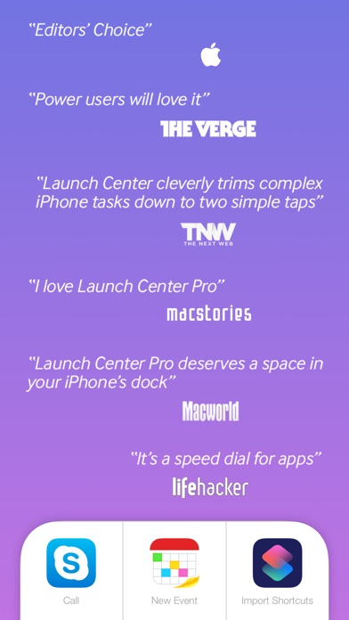 Screenshot #6 for Launch Center Pro