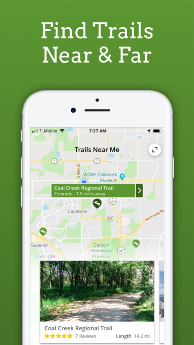 TrailLink - Bike Trails, Walking Trails & Offline Trail Maps screenshot