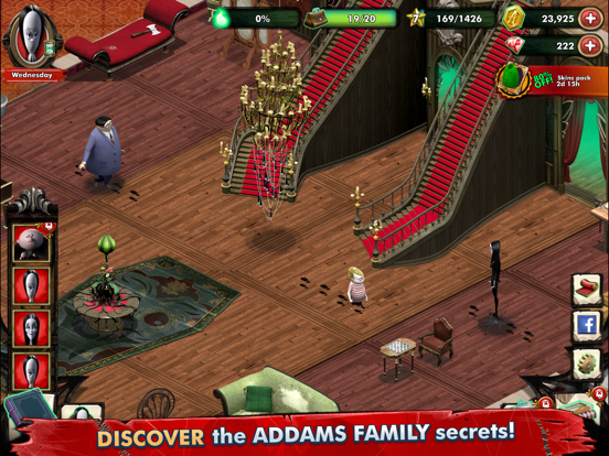 Addams Family Mystery Mansion screenshot 8
