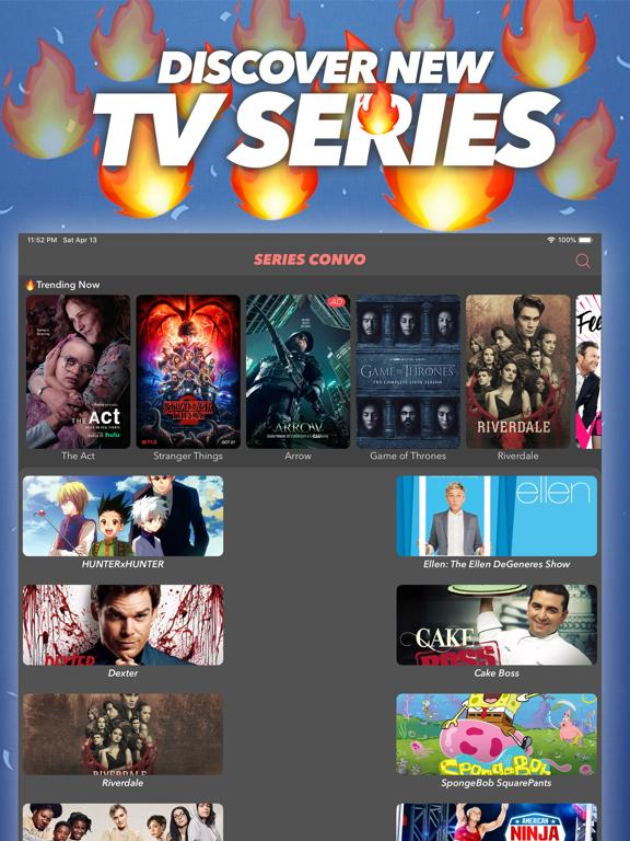 Series Convo: TV Show Chatroom screenshot 5
