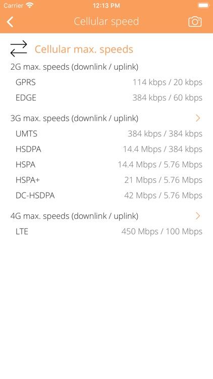 Cellular Info screenshot-6