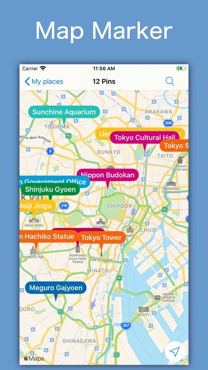 SpotNote - My Map Marker