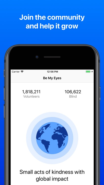 Be My Eyes – Helping the blind screenshot-3