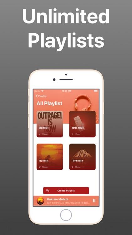 Offline Music - Unlimited Musi screenshot-4