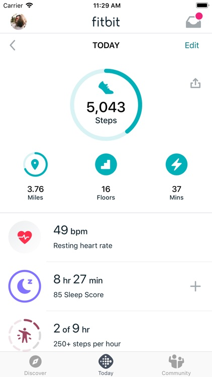 Fitbit: Health & Fitness screenshot-0