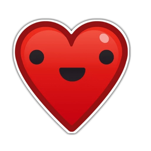 Heart - Emoji stickers