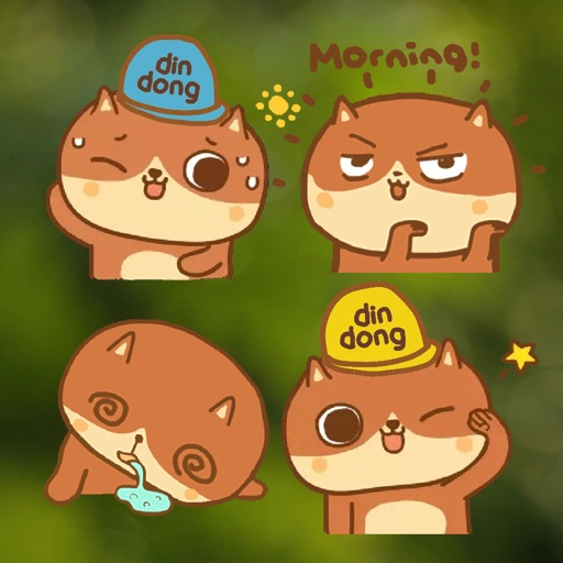 New DinDong Stickers