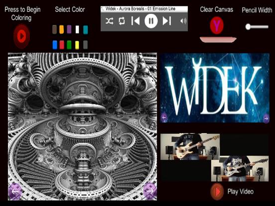 Prog Metal Widek Coloring screenshot 4