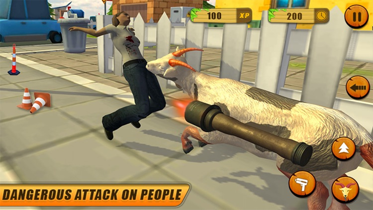 Crazy Goat Simulator unlimited