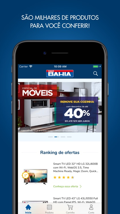 Casas Bahia screenshot-0