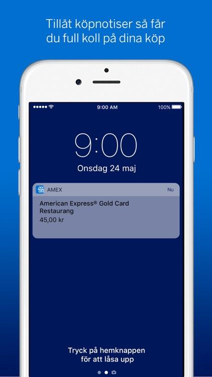 Amex Sverige screenshot-5