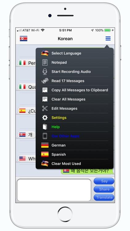 mText2Speech Translator screenshot-3
