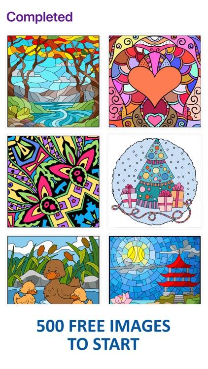 Line Art: Coloring book screenshot-8