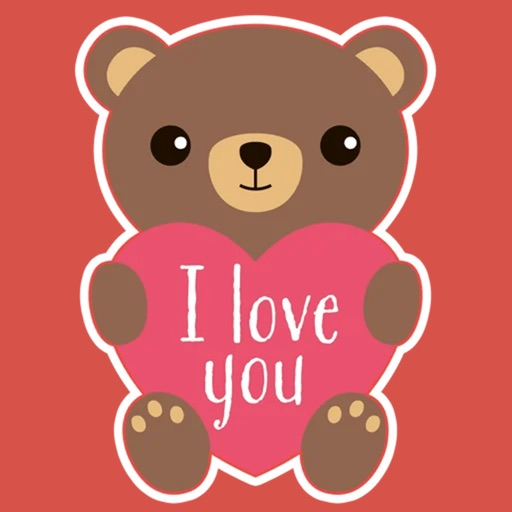 Valentines Day : love stickers