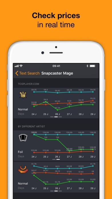 MTG Manager screenshot1