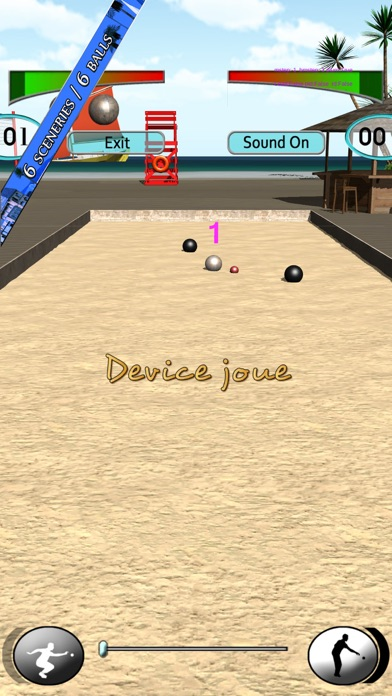 Real Bocce OnLine screenshot 2