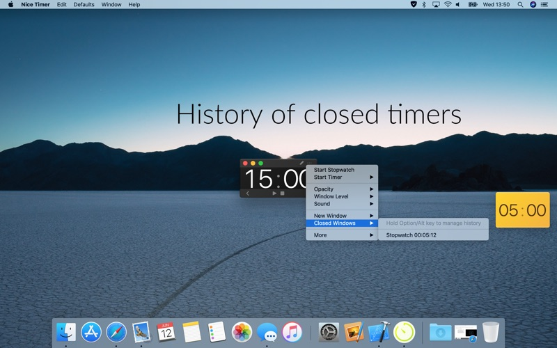 Nice Timer 3: colorful timers Screenshots