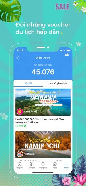 Astra - Mạng xã hội du lịch