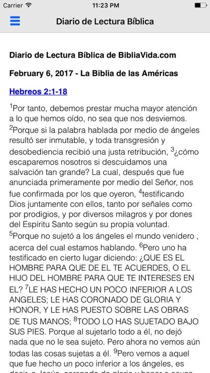 Biblia Reina Valera en Español screenshot-3