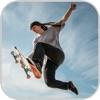 Skateboarding Street City
