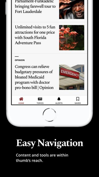 Sun Sentinel Screenshot