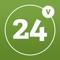 App Icon for Valkenswaard24 App in Belgium IOS App Store