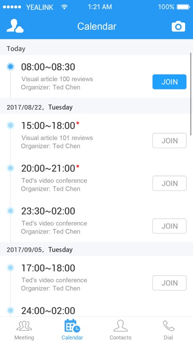 Yealink VC Mobile screenshot two