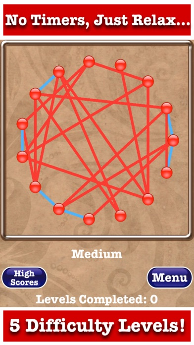 Untangle Jewels™ screenshot two