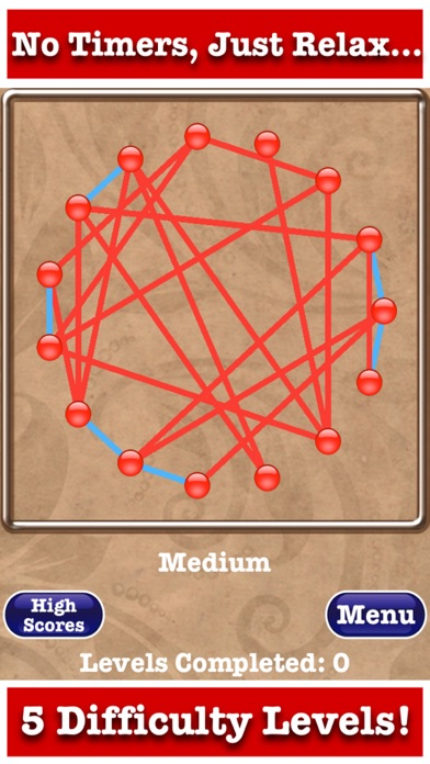 Untangle Jewels™ screenshot two